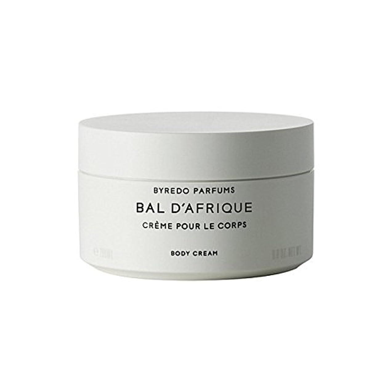良さ気怠い有効のボディクリーム200ミリリットル x4 - Byredo Bal D'Afrique Body Cream 200ml (Pack of 4) [並行輸入品]