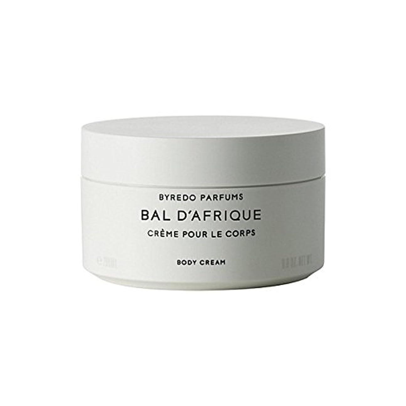 水素職業ドナーのボディクリーム200ミリリットル x4 - Byredo Bal D'Afrique Body Cream 200ml (Pack of 4) [並行輸入品]