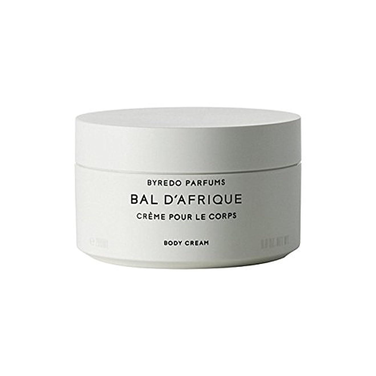 幸福スワップ分類するByredo Bal D'Afrique Body Cream 200ml (Pack of 6) - 'のボディクリーム200ミリリットル x6 [並行輸入品]