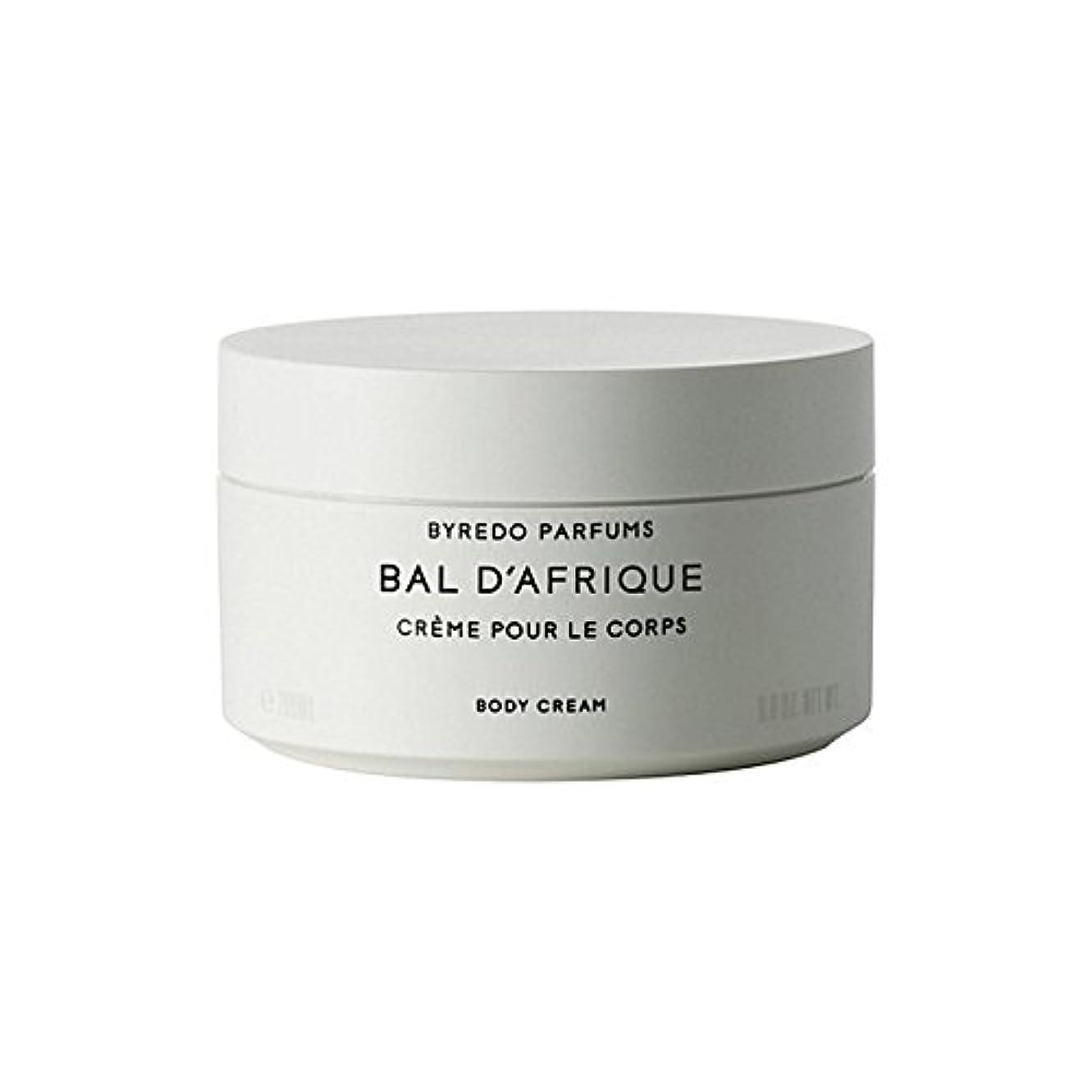 腹部負荷第二のボディクリーム200ミリリットル x4 - Byredo Bal D'Afrique Body Cream 200ml (Pack of 4) [並行輸入品]