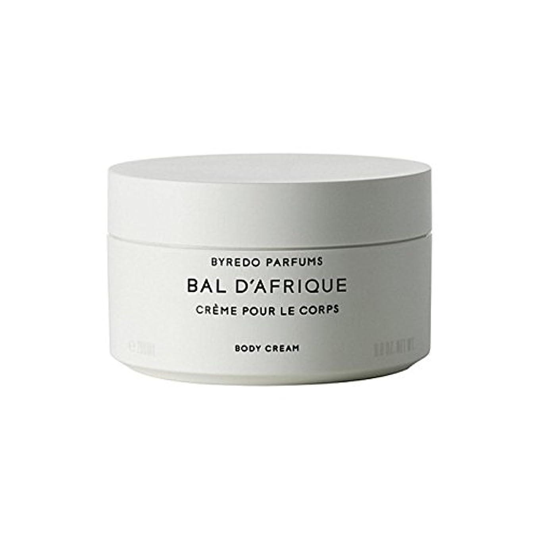 四半期リングもろいのボディクリーム200ミリリットル x4 - Byredo Bal D'Afrique Body Cream 200ml (Pack of 4) [並行輸入品]