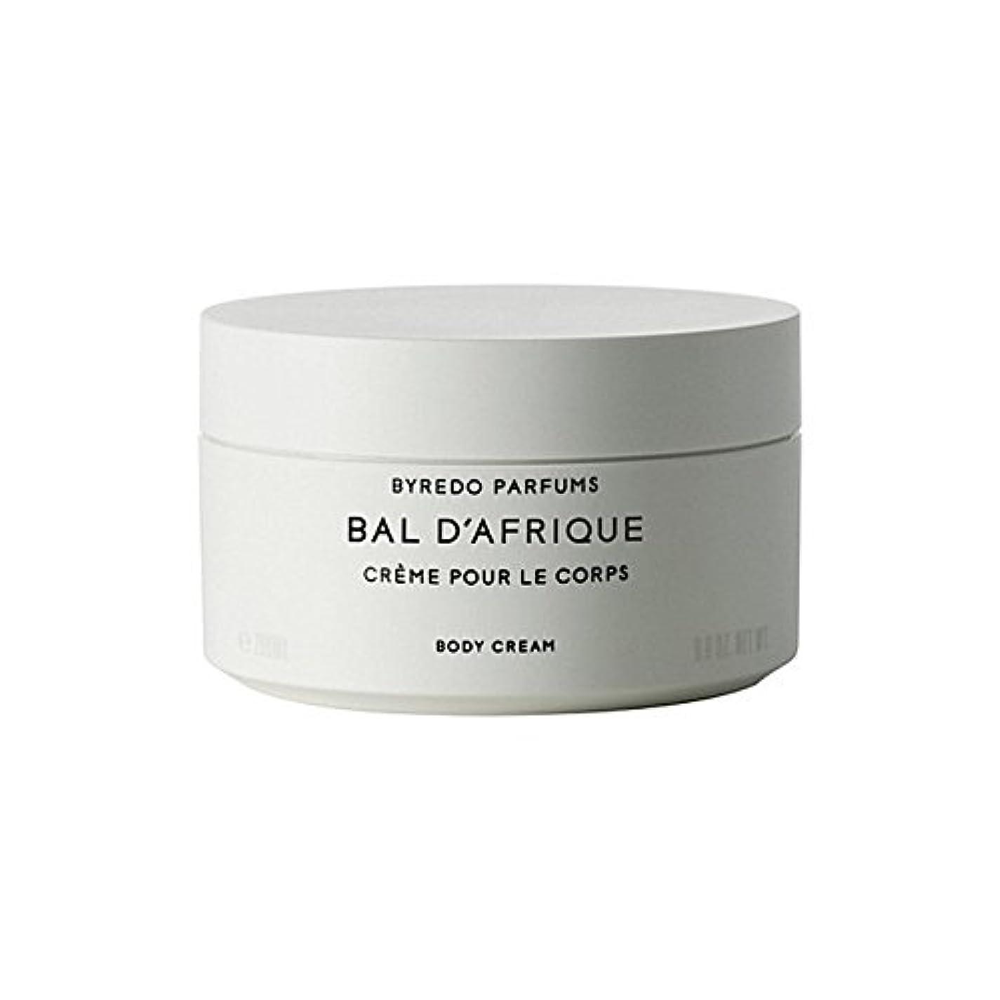 'のボディクリーム200ミリリットル x2 - Byredo Bal D'Afrique Body Cream 200ml (Pack of 2) [並行輸入品]