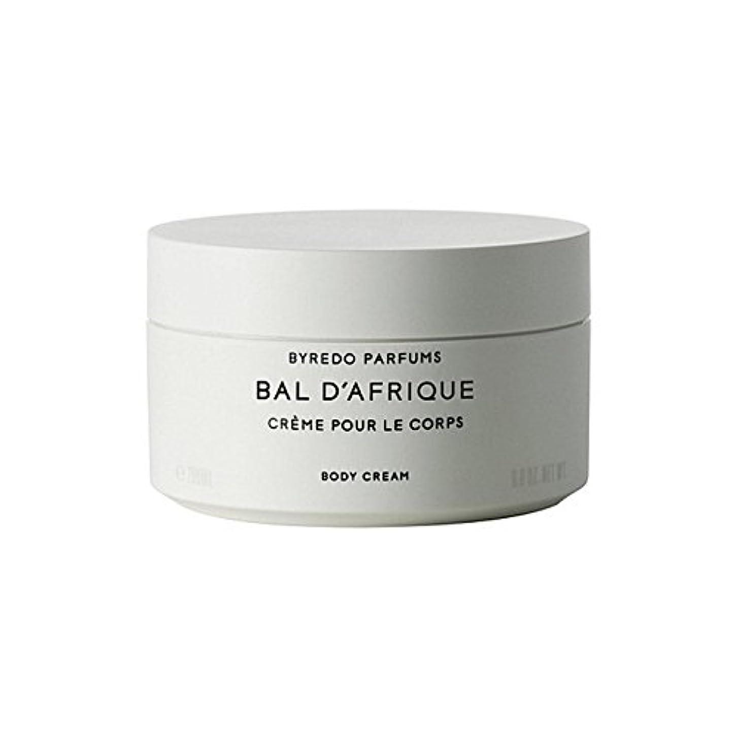 ドル逆さまにByredo Bal D'Afrique Body Cream 200ml - 'のボディクリーム200ミリリットル [並行輸入品]