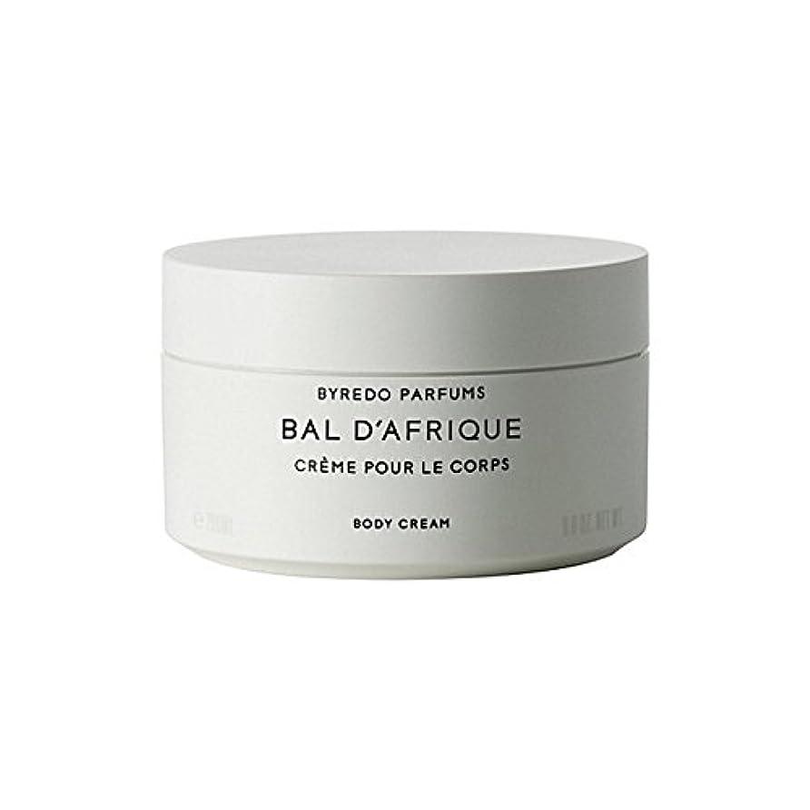 影のある影のある鳩Byredo Bal D'Afrique Body Cream 200ml - 'のボディクリーム200ミリリットル [並行輸入品]