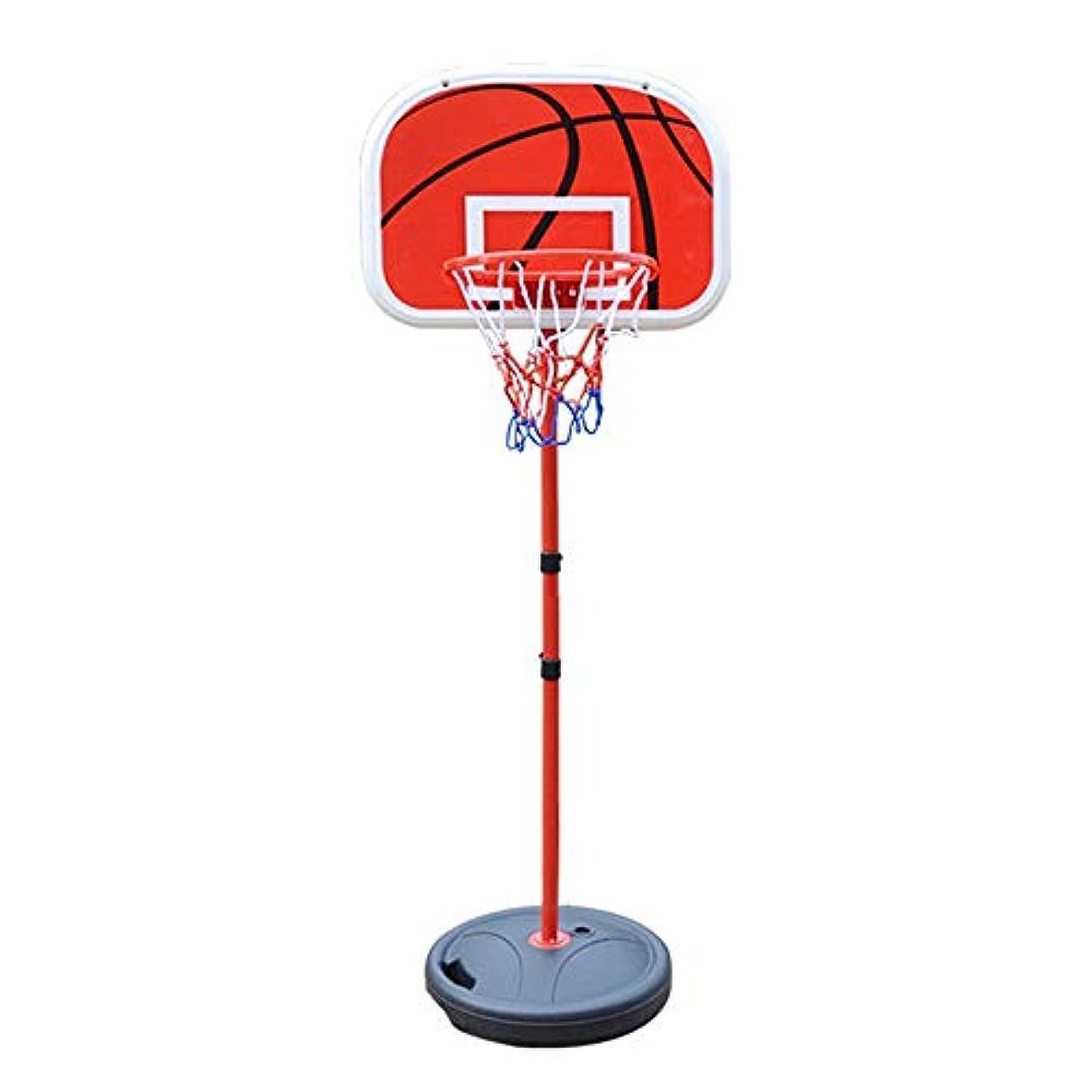 ネブ紛争羨望調節可能なバスケットボールフレーム 屋外の子供のおもちゃポータブルリムーバブルリフティング少年スポーツのおもちゃのためのバスケットボールフープ 室内屋外兼用 (色 : Black, Size : One size)