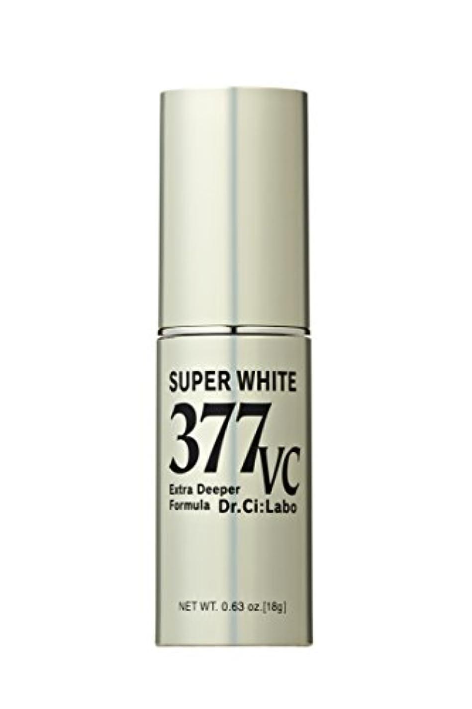 欠点凍った工業化するドクターシーラボ スーパーホワイト377VC(ブイシー) 高浸透ビタミンC 美容液 単品 18g
