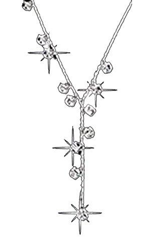 [해외]KimBerley Y 자 목걸이 심플 캐주얼 정장 액세서리 보석 파티 드레스 은빛/KimBerley Y letter long necklace simple casual formal accessories jewelry party dress silver color