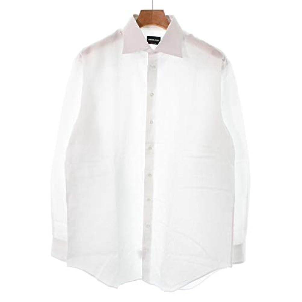 呼び出す情緒的お祝い(ジョルジオアルマーニ) Giorgio Armani メンズ シャツ 中古
