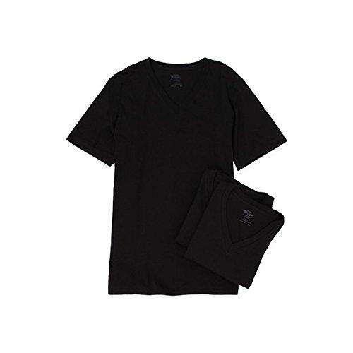 (ジョッキー) Jockey メンズ トップス 半袖シャツ Tシャツ Cotton V-Neck T-Shirt 3-Pack 並行輸入品