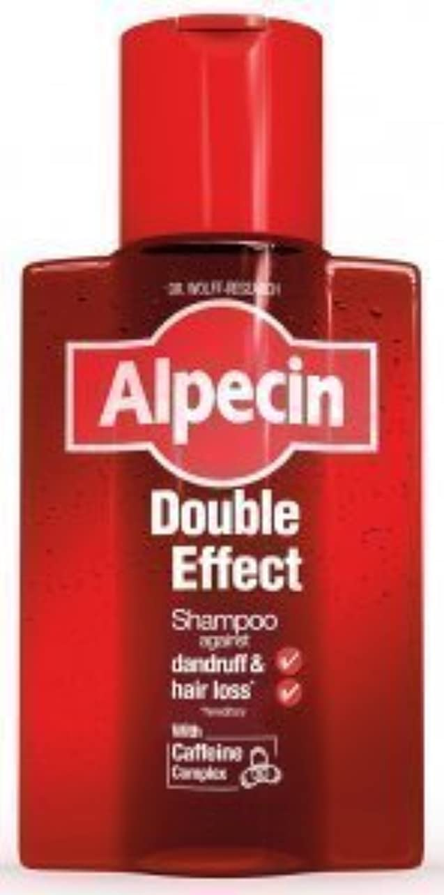 調べる請願者すずめAlpecin Double Effect Shampoo 200ml by ALPECIN [並行輸入品]