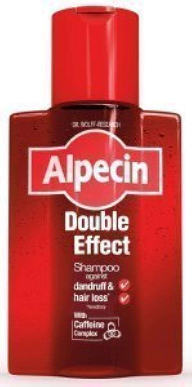 夫婦アノイ引用Alpecin Double Effect Shampoo 200ml by ALPECIN [並行輸入品]