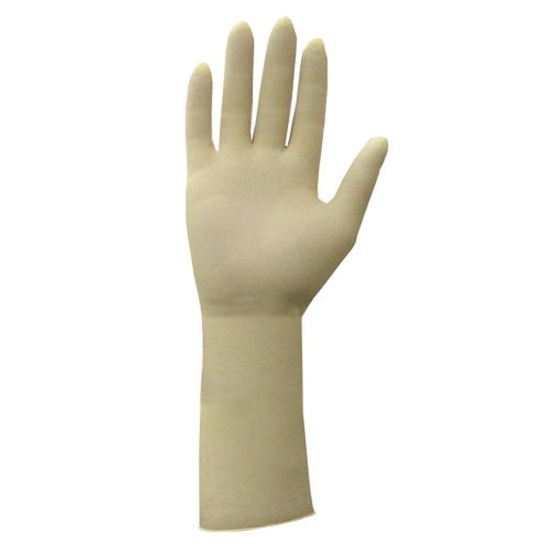 男らしさプランター粘性のロングラテックス手袋(M)1,000枚