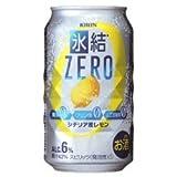 キリン 氷結 ZERO レモン 糖類ゼロ 350ml×1ケース(24本)