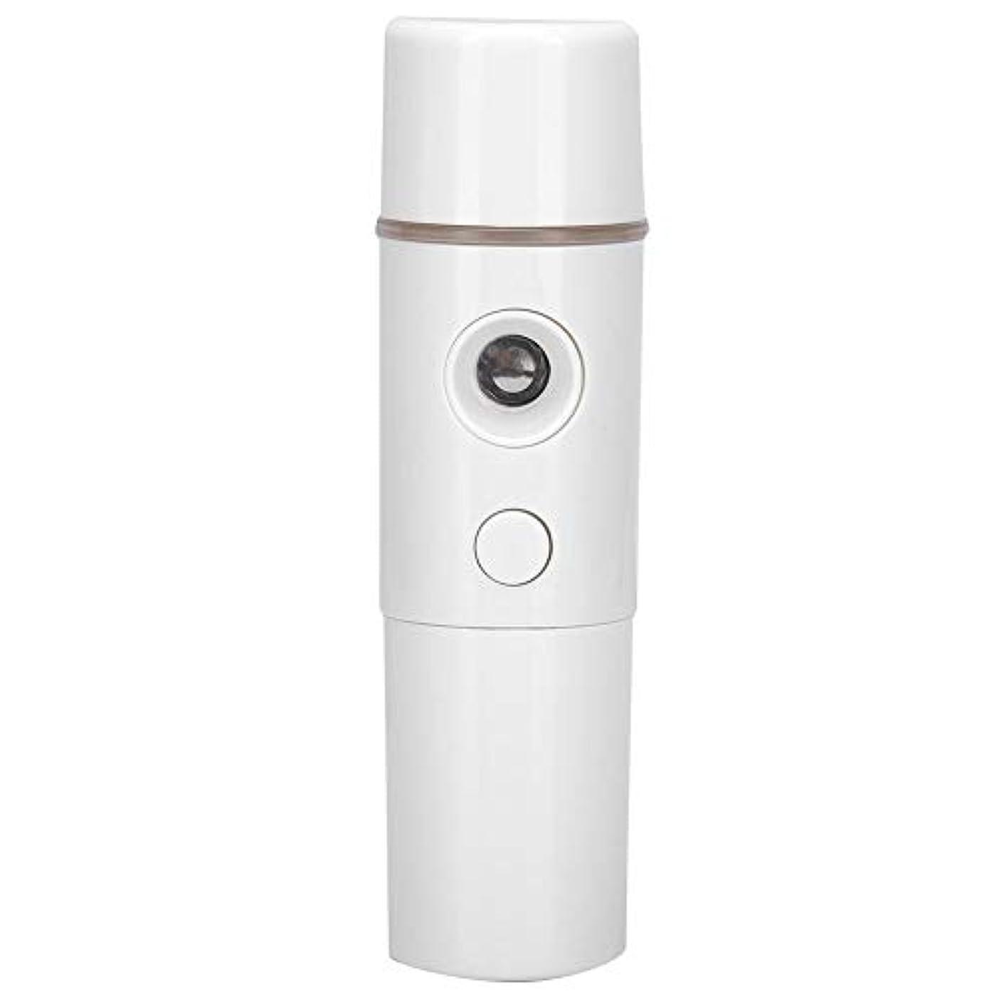 革命的背の高いワット噴霧スプレー、15ミリリットルポータブルナノミストスプレーフェイスネブライザー保湿加湿器