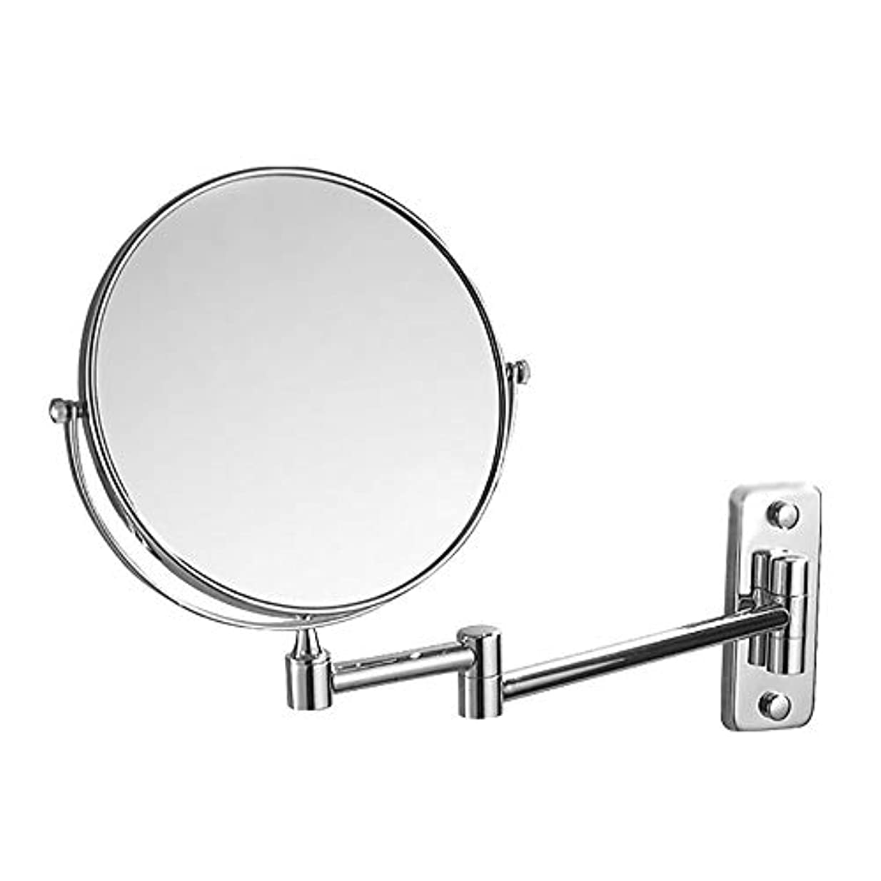 透過性精神一過性化粧鏡拡大両面鏡壁掛け折りたたみ化粧鏡