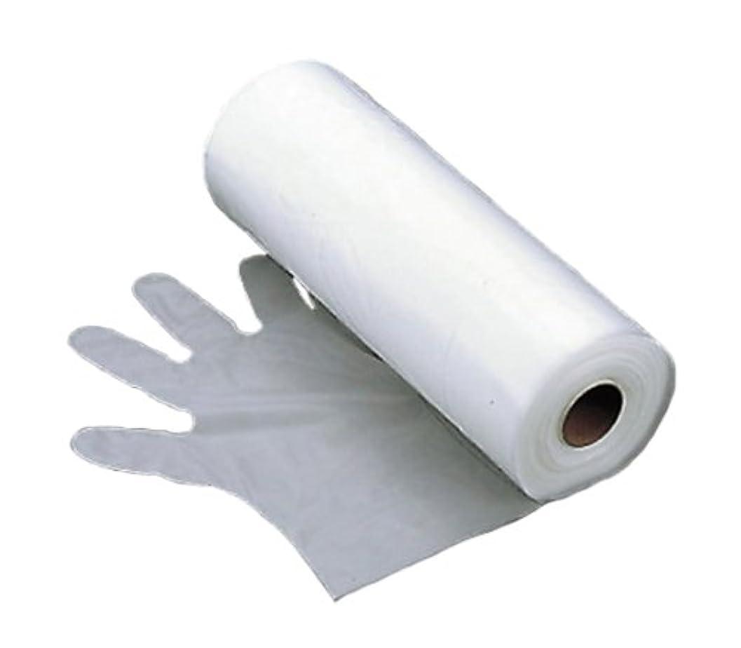あごアナニバー偽装するエンボス 手袋 #30(五本絞り)150枚ロール巻 S 30μ