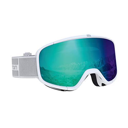 サロモン(SALOMON) スキー スノーボード ゴーグル ユニセックス FOUR SEVEN PHOTO White/Blue L40517300