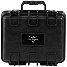 "Monoprice Weatherproof Polypropylene Case with Customizable Foam, 10.63"" x 9.09"" x 7.28"""