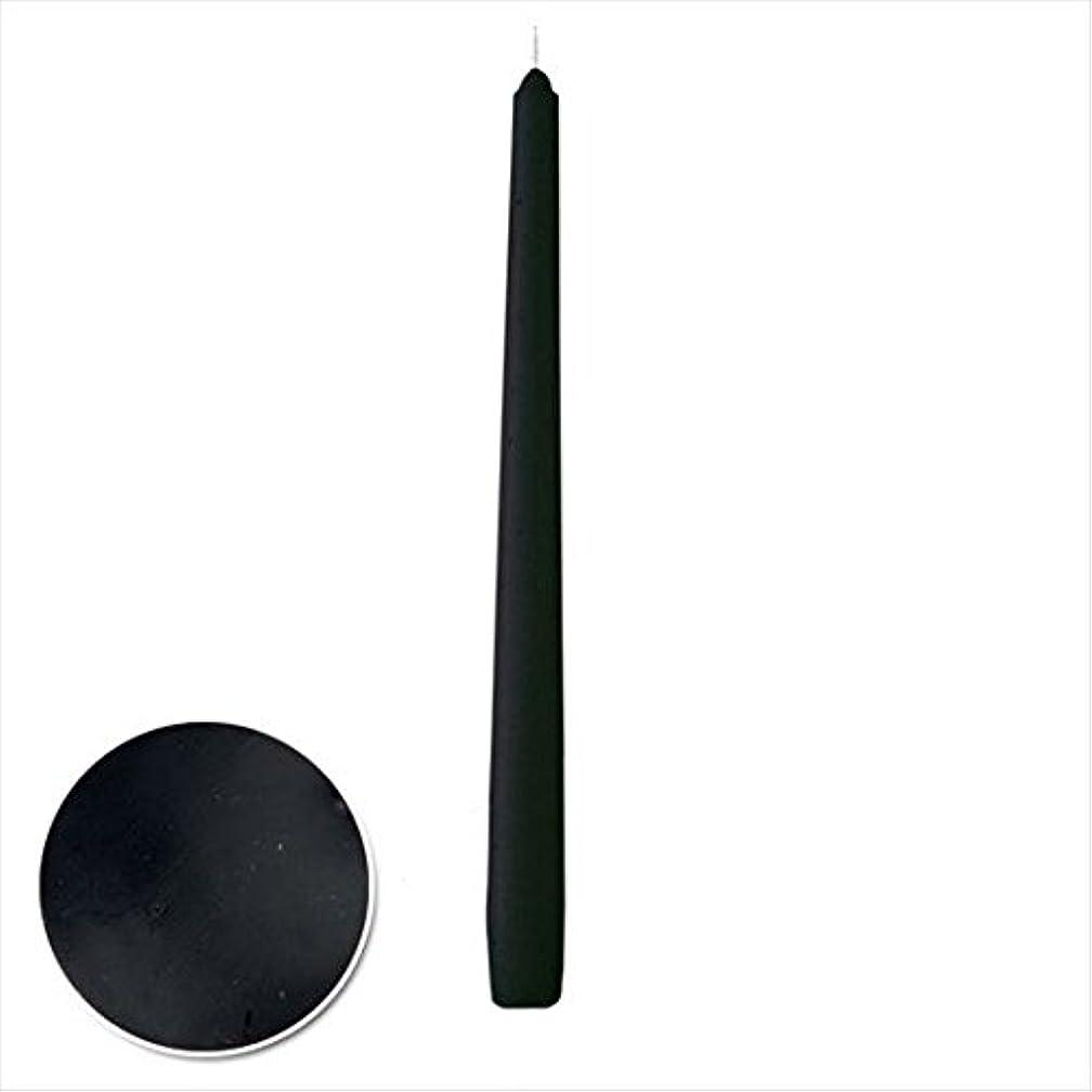 ストラップつまずく不運カメヤマキャンドル(kameyama candle) 12インチテーパー 「 ブラック 」 12本入り