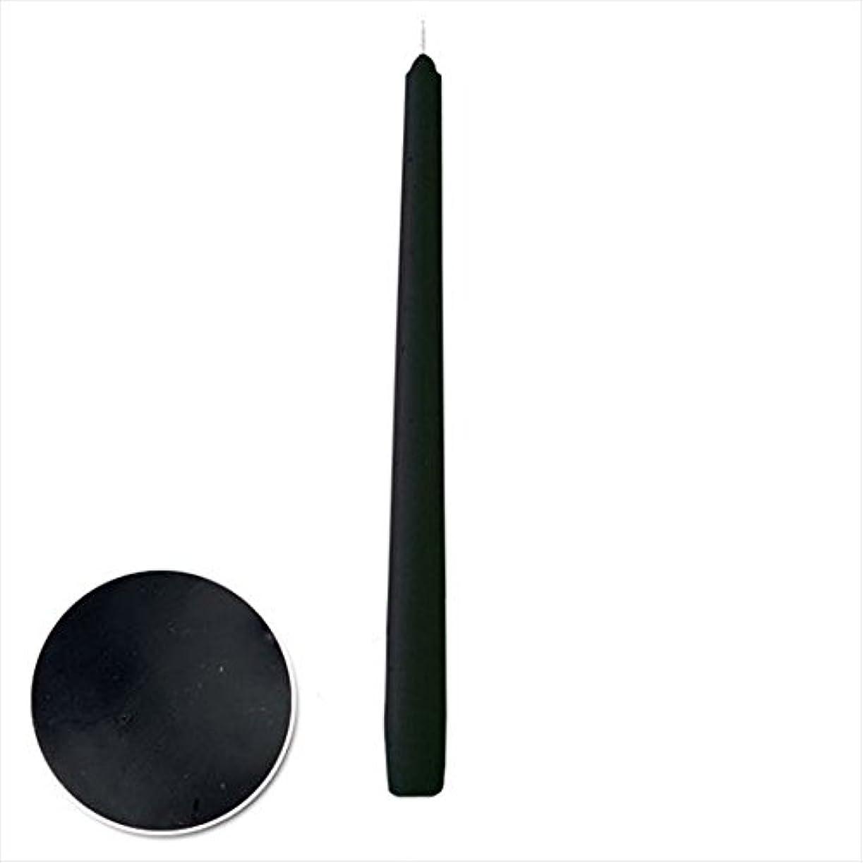 アラスカ千学部カメヤマキャンドル(kameyama candle) 12インチテーパー 「 ブラック 」 12本入り
