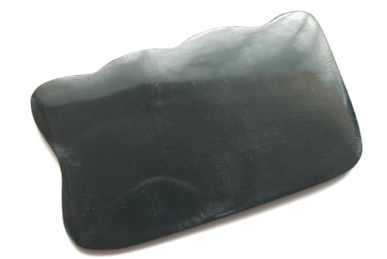 アセ意志アートかっさ板、美容、刮莎板、グアシャ板,水牛角製