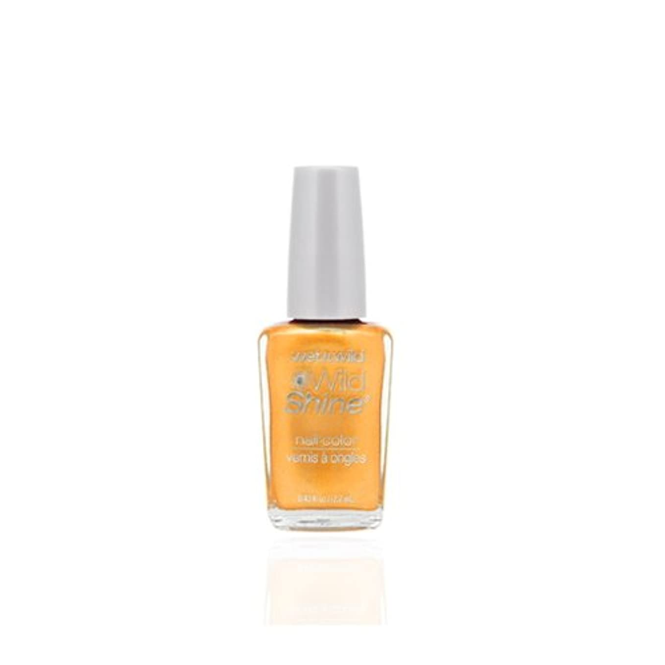 排泄する彼女損失WET N WILD Wild Shine Nail Color - Sunny Side Up (並行輸入品)