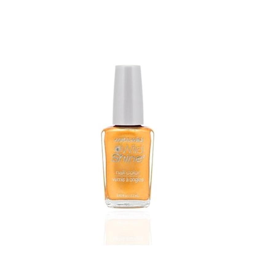 結晶トークン印刷するWET N WILD Wild Shine Nail Color - Sunny Side Up (並行輸入品)