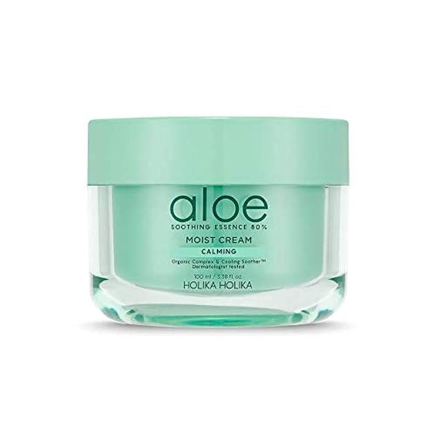 [ホリカホリカ] アロエスージングエッセンス80%水分クリーム / [HOLIKA] Aloe Soothing Essence 80% Moist Cream 韓国コスメ [並行輸入品]