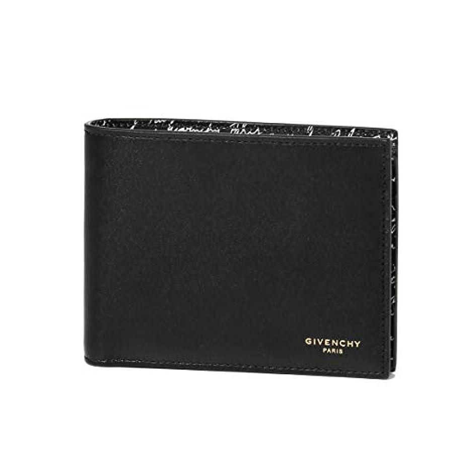 さらにアルカイック狼(ジバンシー) GIVENCHY 二つ折り財布 ブラック BK6012K0AA 004 [並行輸入品]