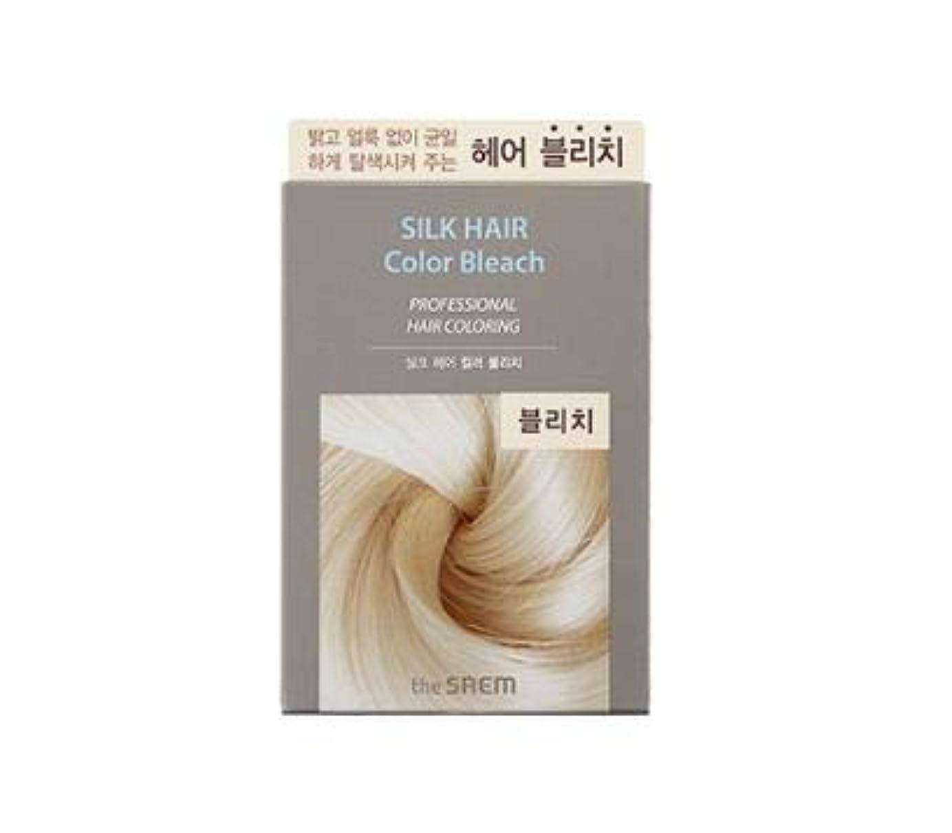 正規化症状お手入れThe Saem SliK Hair Color Bleach ザセムシルクヘアカラーブリーチ [並行輸入品]