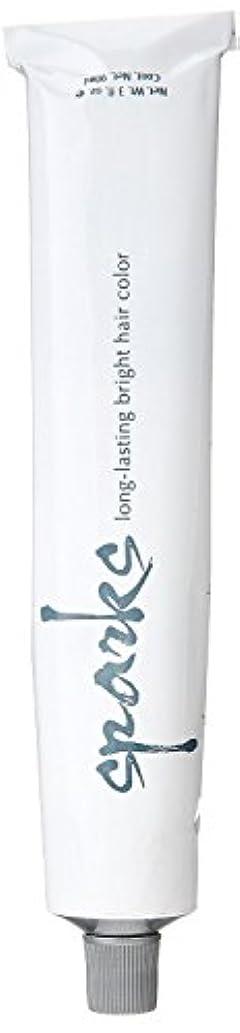 関与する塊運動するSPARKS 長持ち明るい髪の色、シルバーミスト、3オンス 3オンス シルバーミスト