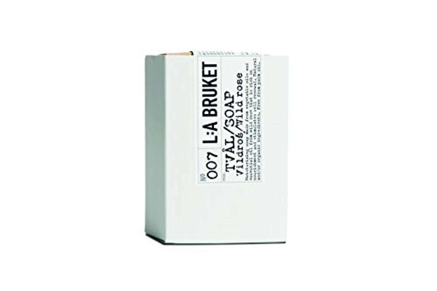 モチーフただ化学L:a Bruket (ラ ブルケット) バーソープ (ワイルドローズ) 120g
