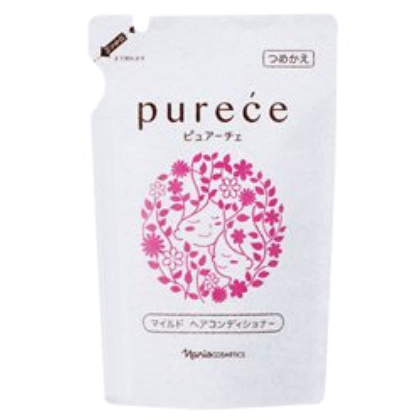 適切な隣接する傾斜ナリス化粧品 ピュアーチェ(PURECE) マイルドヘアコンディショナーFS カエ450ml[レフィル]