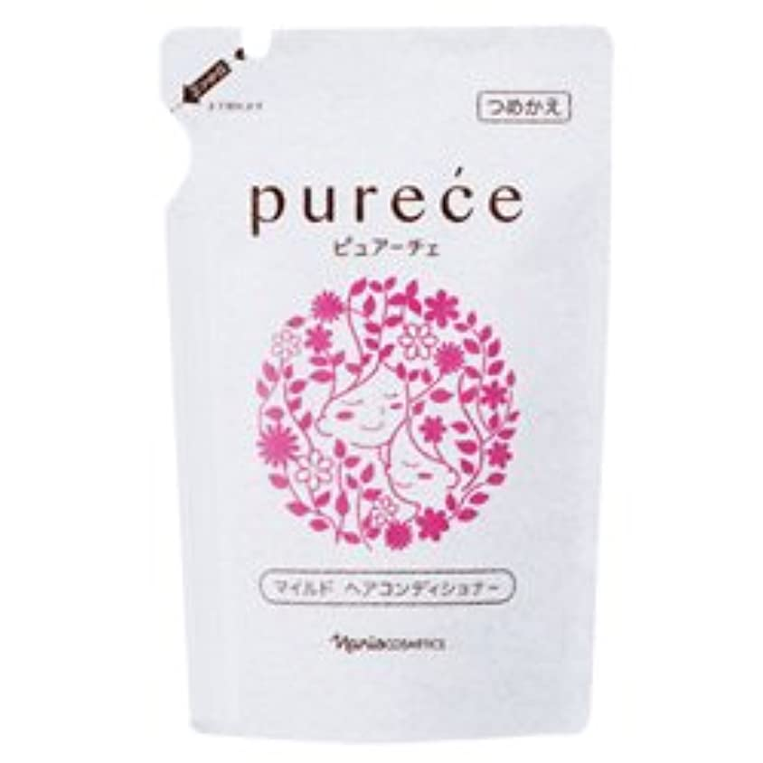 におい吸収するガレージナリス化粧品 ピュアーチェ(PURECE) マイルドヘアコンディショナーFS カエ450ml[レフィル]