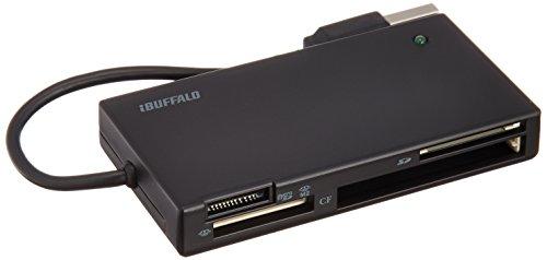 BUFFALO 高速カードリーダー/ライター 節電モデル ブラ...