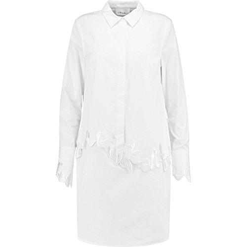 (スリーワン フィリップ リム) 3.1 Phillip Lim レディース ワンピース・ドレス ワンピース Embroidered cotton-poplin mini shirt dress [並行輸入品]