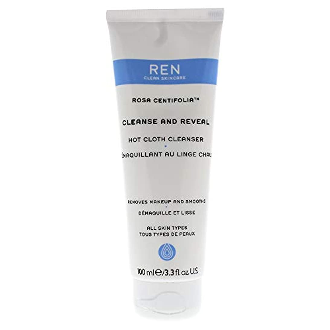 アイドル時系列抵抗するレン Rosa Centifolia Cleanse & Reveal Hot Cloth Cleanser 100ml/3.3oz並行輸入品