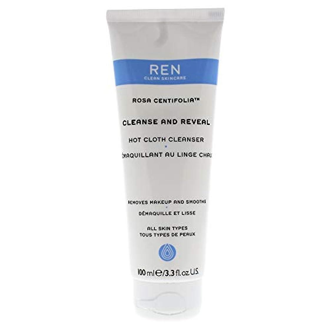 表面亡命前任者レン Rosa Centifolia Cleanse & Reveal Hot Cloth Cleanser 100ml/3.3oz並行輸入品