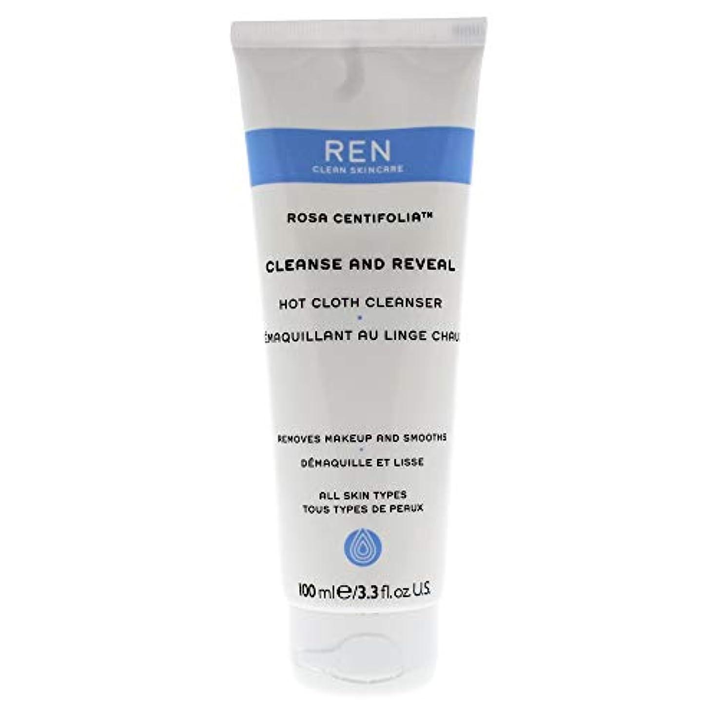 くま味驚くべきレン Rosa Centifolia Cleanse & Reveal Hot Cloth Cleanser 100ml/3.3oz並行輸入品