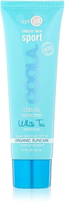 衝突コース概要強制Classic Face Sport Sunscreen Moisturizer SPF 50 - White Tea
