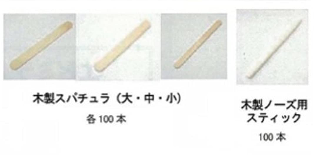 残酷なムスメイドEPI MILANO エピミラノ 木製スパチュラ 大 100本