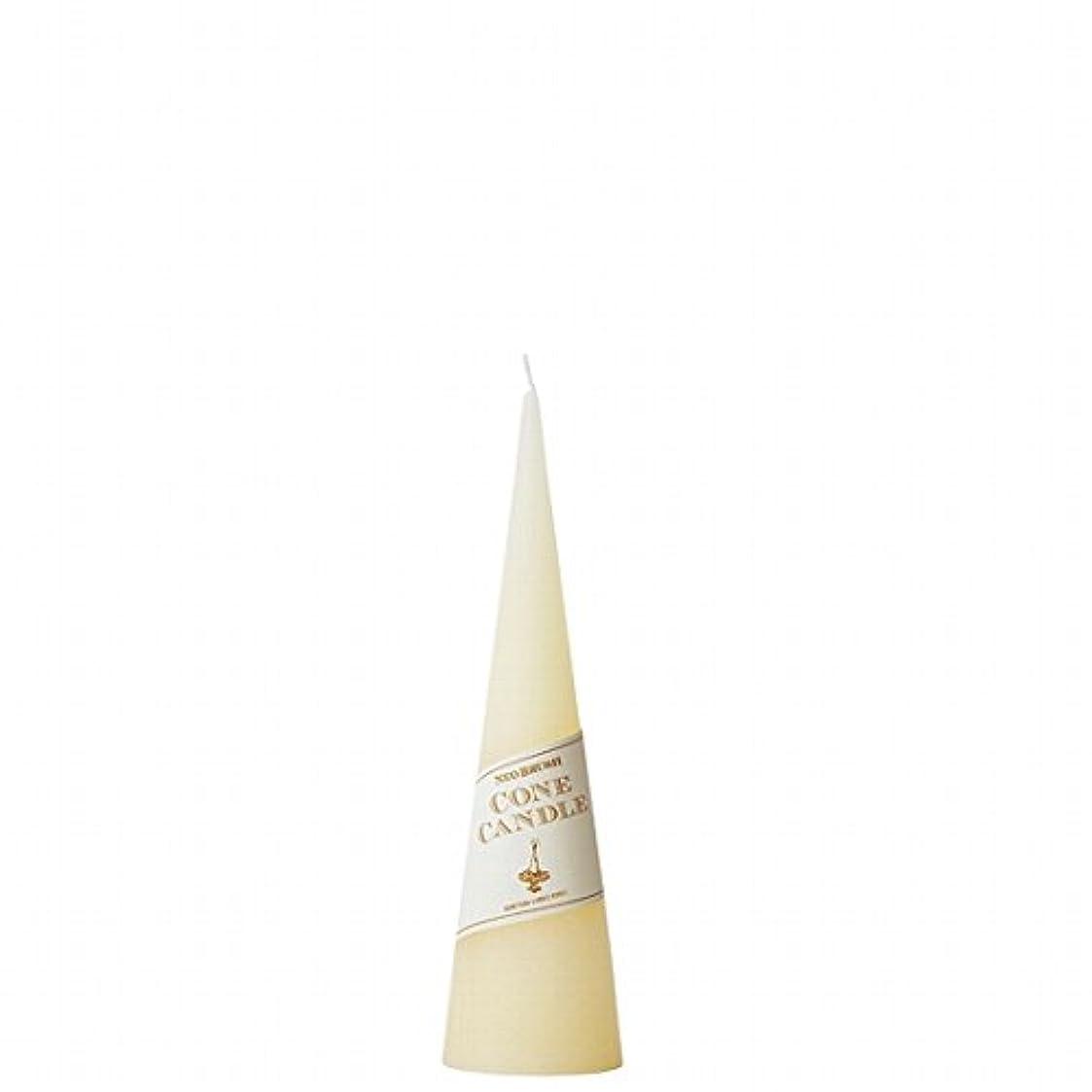 不振矛盾しわカメヤマキャンドル( kameyama candle ) ネオブラッシュコーン 180 キャンドル 「 アイボリー 」