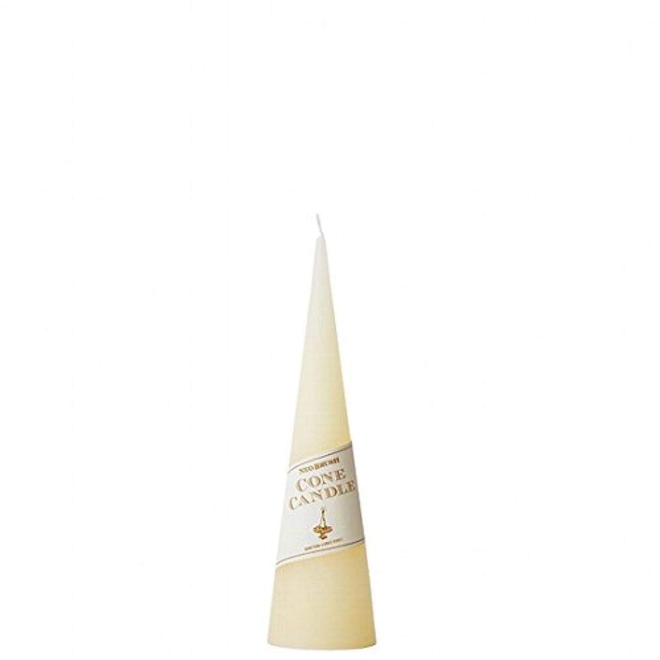 定期的な廊下伝染性カメヤマキャンドル( kameyama candle ) ネオブラッシュコーン 180 キャンドル 「 アイボリー 」