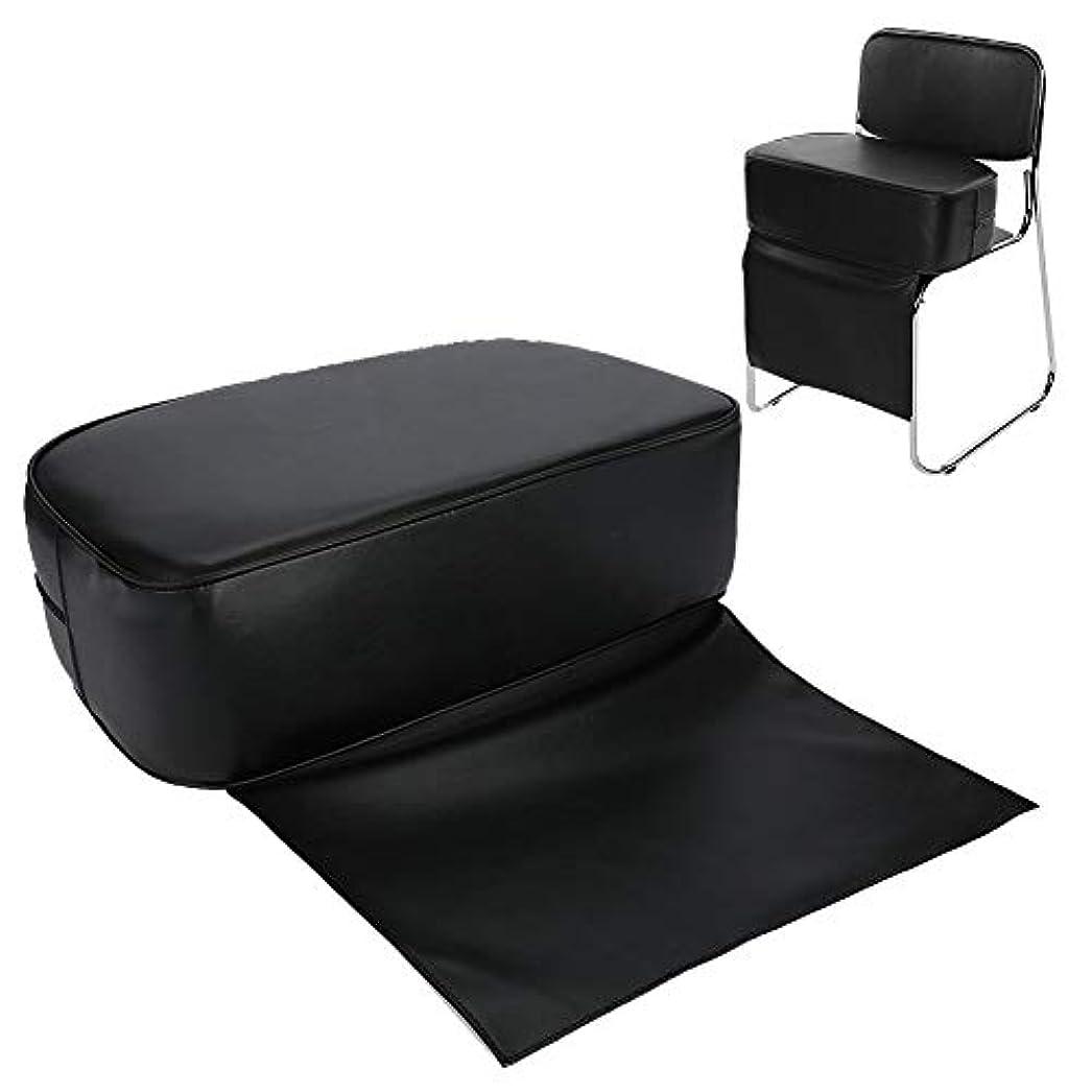 快適で耐久性のあるPUバーバーブーストシートチェア(子供用)-ヘアサロンスタイリングバーバークッション