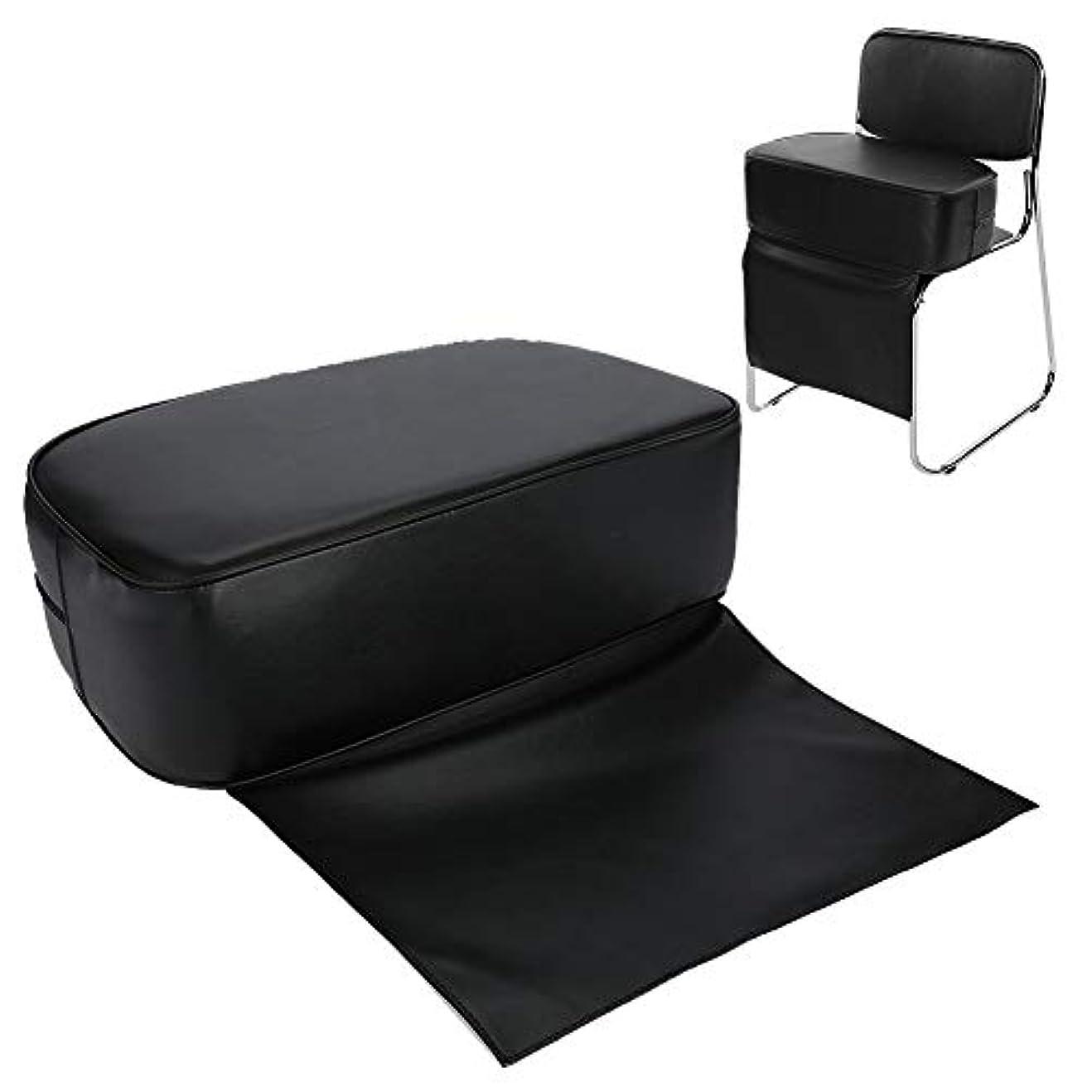 カウントいう人に関する限り快適で耐久性のあるPUバーバーブーストシートチェア(子供用)-ヘアサロンスタイリングバーバークッション