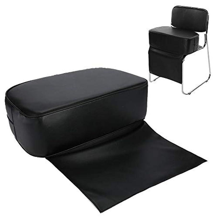 手を差し伸べる機会見込み快適で耐久性のあるPUバーバーブーストシートチェア(子供用)-ヘアサロンスタイリングバーバークッション