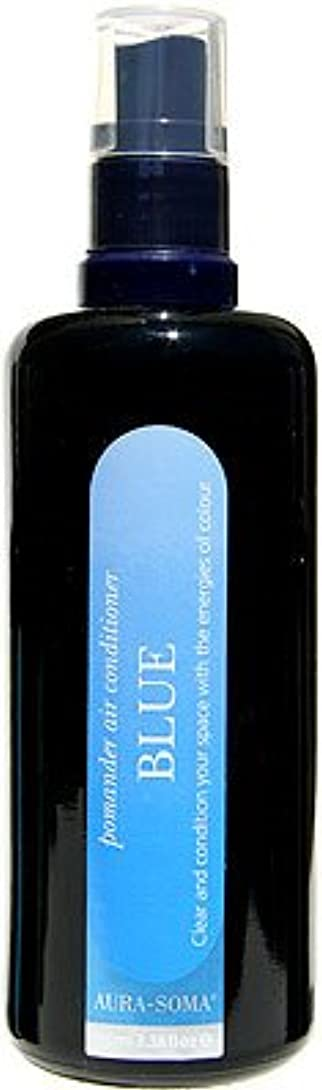 フィールド武装解除防腐剤オーラソーマ ポマンダー?エアコンディショナー 100ml サファイア ブルー 「より高いコミュニケーション」