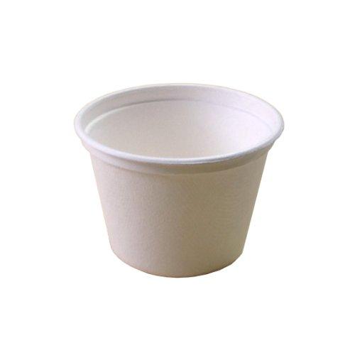 使い捨て 紙カップ エコでオシャレな eモールド ミニカップ 140ml L048 50個入