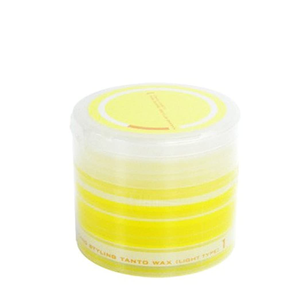 ジャベスウィルソン熱意塩辛いナカノ スタイリング タント ワックス 1 ライトタイプ