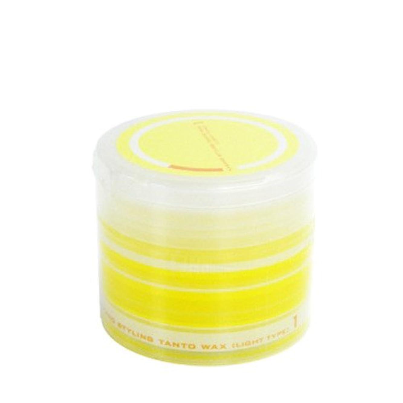 ナカノ スタイリング タント ワックス 1 ライトタイプ